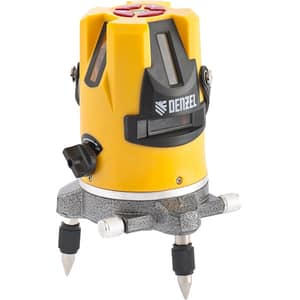 Nivela laser DENZEL 35070, raza 10m, galben