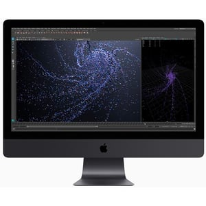 "Sistem PC All in One APPLE iMac Pro mhlv3ro/a, 27"" Retina 5K, Intel Xeon W pana la 4.5GHz, 32GB, SSD 1TB, AMD Radeon Pro Vega 56 8GB, MacOS Catalina, Tastatura layout RO"