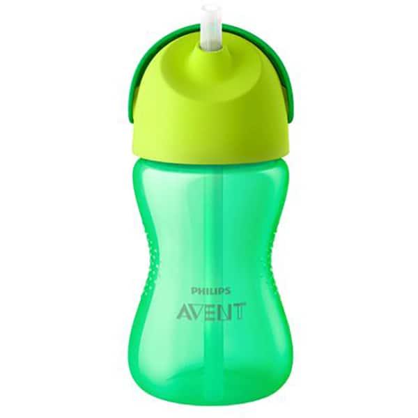 Cana cu pai PHILIPS AVENT SCF798/01, 12 luni +, 300 ml, verde