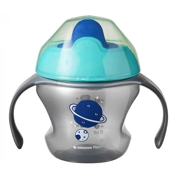 Cana TOMMEE TIPPEE First Trainer TT0258, 4 luni+, 150 ml, gri-albastru