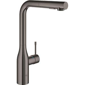 Baterie bucatarie GROHE Essence 30270A00, dus extractibil, metal, grafit