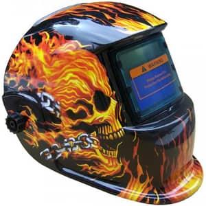 Masca sudura cu cristale lichide INTENSIV Flame 9-13, 2 senzori, vizor 92x42mm, sudura 5-400A