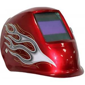 Masca sudura cu cristale lichide INTENSIV 53047, 4 Senzori, vizor 100 x 60mm, sudura 5-400A, RED XL