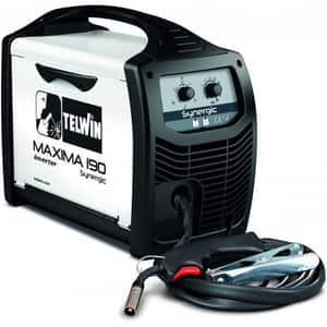 Invertor de sudura MIG-MAG TELWIN Maxima 190 Synergic, 20-170A, diametru sarma 0.6-1.2mm