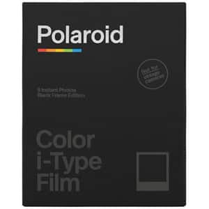 Film color Polaroid pentru Polaroid i-Type, black frame edition, 8 buc