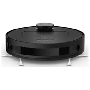 Aspirator robot ROWENTA X-Plorer Serie 75 Total Care RR7675WH, 0.4l, autonomie max 150 min, Navigatie laser, functie mop, negru