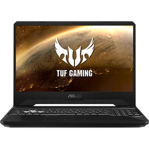"Laptop Gaming ASUS TUF FX505GT-HN098, Intel Core i5-9300H pana la 4.1GHz, 15.6"" Full HD, 8GB, SSD 256GB + HDD 1TB, NVIDIA GeForce GTX 1650 4GB, Free DOS, Stealth Black"