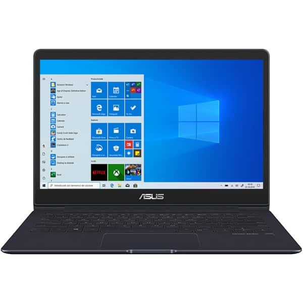 "Laptop ASUS ZenBook 13 UX331FAL-EG006T, Intel® Core™ i5-8265U pana la 3.9Ghz, 13.3"" Full HD, 8GB, SSD 256GB, Intel UHD Graphics 620, Windows 10 Home, Deep Dive Blue"