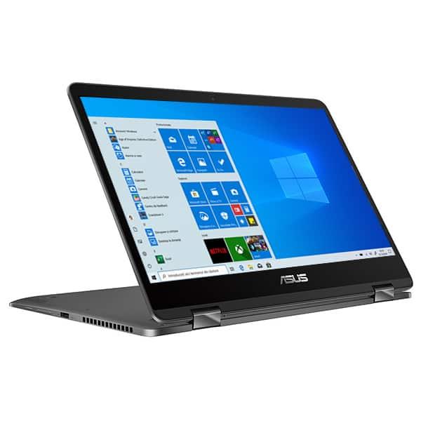 "Laptop 2 in 1 ASUS ZenBook UX461UA-E1012T, 14"" Full HD Touch, Intel Core i5-8250U pana la 3.4GHz, 8GB, SSD 256GB, Intel UHD Graphics 620, Windows 10 Home"