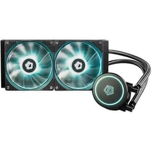Cooler procesor cu racire lichida ID-COOLING Auraflow X 240, 2x120mm, AURAFLOW-X-240