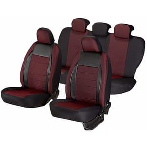 Set huse scaune UMBRELLA Elegance 44495, rosu