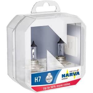 Bec auto halogen pentru far NARVA Range Power, +50%, H7 12V, 55W, PX26d, 2 bucati