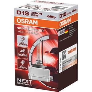 Bec auto xenon pentru far OSRAM Night Breaker Laser, +200%, D1S, 12V, 35W, PK32d-2, 1 bucata