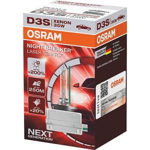 Bec auto xenon pentru far OSRAM Night Breaker Laser, +200%, D3S,12V, 35W, PK32d-5, 1 bucata