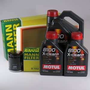 Pachet schimb ulei MOTUL 8100 X-clean+  5W30, Volkswagen Transporter T6, 2.0 TDI, 180CP, 2015-prezent
