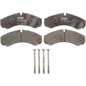 Set placute frana spate TRW GDB1345 pentru Iveco, Nissan
