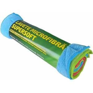 Lavete microfibra ROGROUP, 30 x 40 cm, set 6 buc