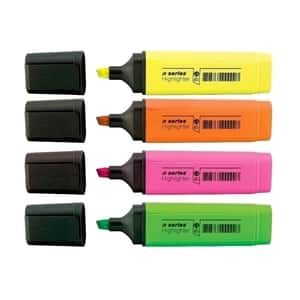 Textmarker A-SERIES, 1-5 mm, 4 culori