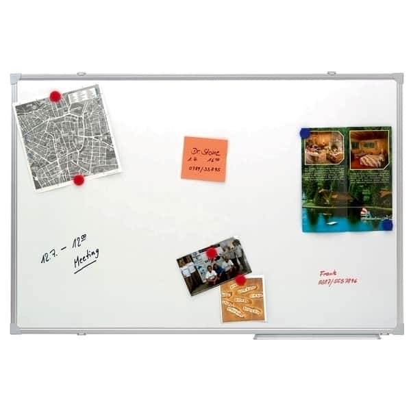 Tabla magnetica A-SERIES, 120 x 180 cm, alb