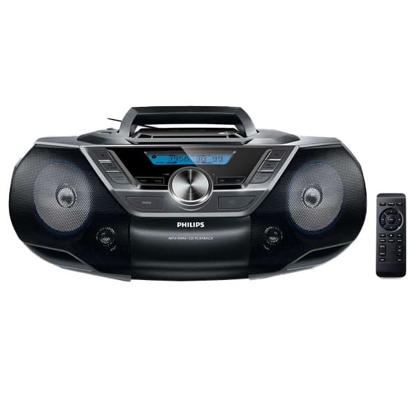 Radio CD PHILIPS Soundmachine AZ780/12, USB, FM, negru