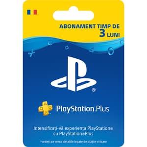 Abonament PlayStation Plus 3 luni (licenta electronica PS4)
