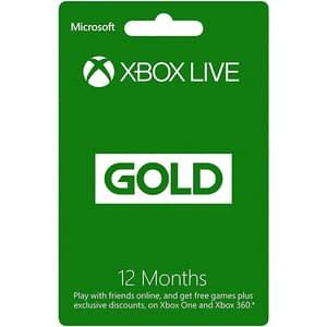 Abonament Xbox Live Gold 12 luni (licenta electronica Xbox)
