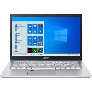 """Laptop ACER Aspire 5 A514-54-79L8, Intel Core i7-1165G7 pana la 4.7GHz, 14"""" Full HD, 16GB, SSD 512GB, Intel Iris Xe, Windows 10 Pro, argintiu"""