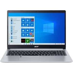 "Laptop ACER Aspire 5 A515-44G-R4YP, AMD Ryzen 5-4500U pana la 4GHz, 15.6"" Full HD, 8GB, SSD 512GB, AMD Radeon RX640 2GB, Windows 10 Home, argintiu"