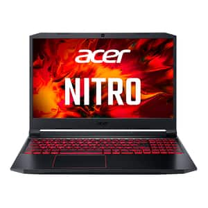 "Laptop Gaming ACER Nitro 5 AN515-44-R0XU, AMD Ryzen 5 4600H pana la 4.0GHz, 15.6"" Full HD, 16GB, SSD 512GB, NVIDIA GeForce GTX 1650Ti 4GB, Free DOS, negru"