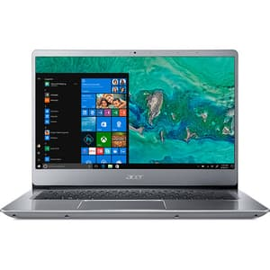 "Laptop ACER Swift 3 SF314-56-55N9, Intel Core i5-8265U pana la 3.9GHz, 14"" Full HD, 8GB, SSD 512GB, Intel HD Graphics 620, Windows 10 Home, Sparkly Silver"
