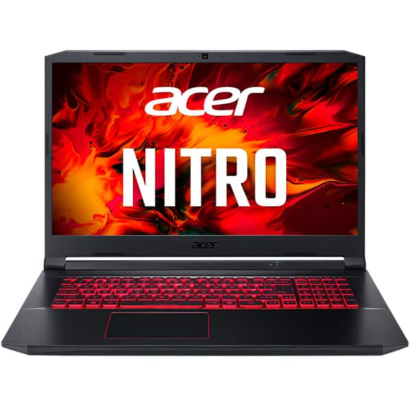 "Laptop Gaming ACER Nitro 5 AN517-52-510X, Intel Core i5-10300H pana la 4.5GHz, 17.3"" Full HD, 8GB, SSD 512GB, NVIDIA GeForce GTX 1650 Ti 4GB, Free DOS, negru"