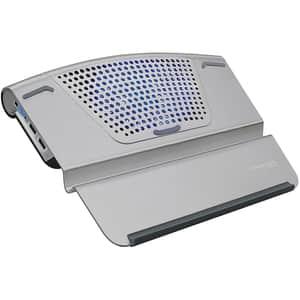 """Cooler laptop PROMATE AirBase-6, 17"""", gri"""