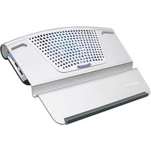"Cooler laptop PROMATE AirBase-6, 17"", argintiu"