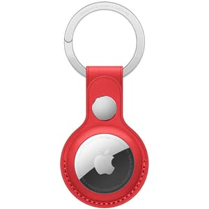 AirTag Leather Key Ring pentru AirTag APPLE MK103ZM/A, PRODUCT RED