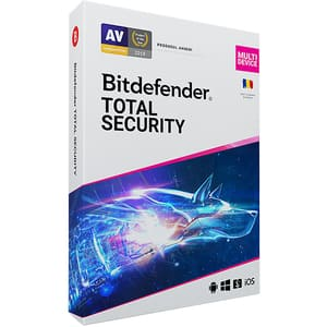 Antivirus BITDEFENDER Total Security, 1 an, 5 PC, Retail