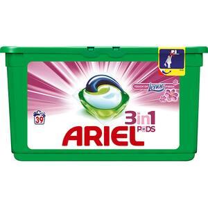 Detergent capsule ARIEL Touch of Lenor, 39 capsule