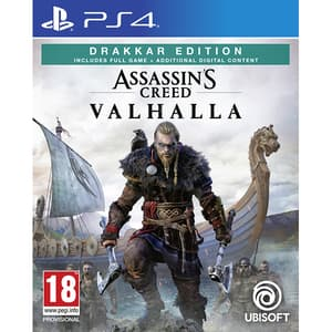 "Assassin's Creed Valhalla Drakkar Edition PS4 + bonus precomanda Steelbook si ""The Way of the Berserker"""