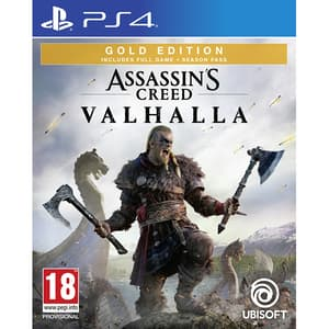 "Assassin's Creed Valhalla Gold Edition PS4 + bonus precomanda Steelbook si ""The Way of the Berserker"""