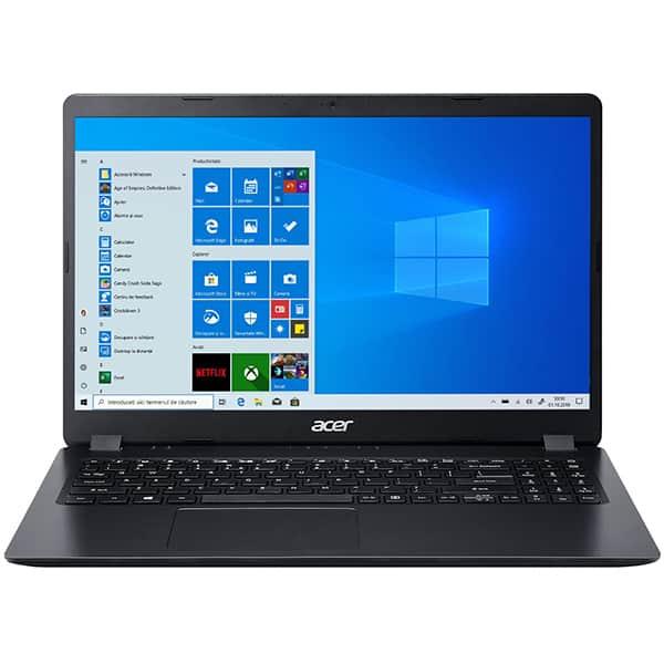 "Laptop ACER Aspire 3 A315-42G, AMD Ryzen 5 3500U pana la 3.7GHz, 15.6"" Full HD, 8GB, SSD 256GB, AMD Radeon 540X 2GB, Windows 10 Home, negru"