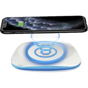 Incarcator wireless PROMATE AuraPad-4, universal, QI, alb