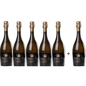 Vin spumant Prosecco alb MONTASOLO, 0.75L, 5+1 sticle