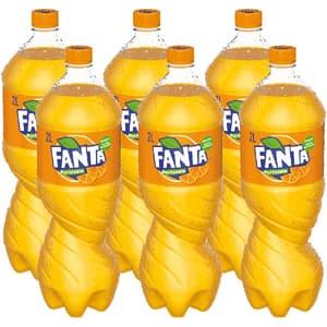Bautura racoritoare carbogazoasa FANTA Orange bax 2L x 6 sticle