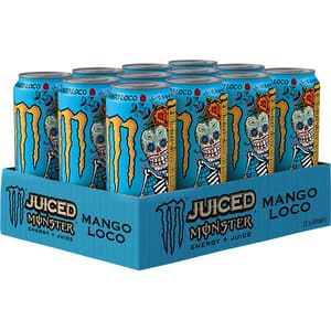 Bautura energizanta MONSTER Juiced bax 0.5L x 12 cutii