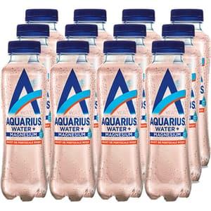 Apa cu vitamine AQUARIUS Magneziu&Portocale Rosii bax 0.4L x 12 sticle
