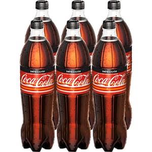 Bautura racoritoare carbogazoasa COCA-COLA Orange&Vanilla Zero Zahar bax 1.25L x 6 sticle