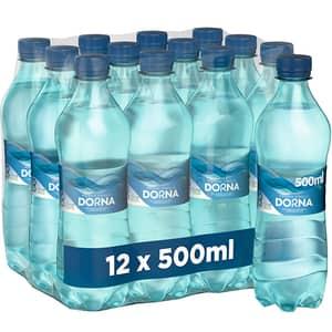 Apa minerala DORNA Poiana vinului bax 0.5L x 12 sticle