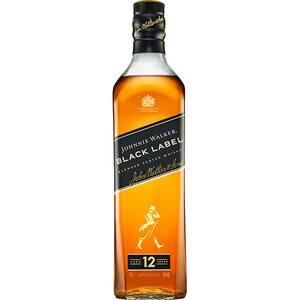 Whisky Johnnie Walker Black Label 12 Yo, 0.7L