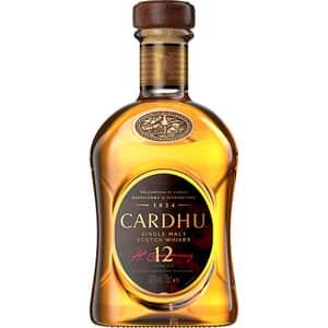 Whisky Cardhu 12 Yo, 0.7L