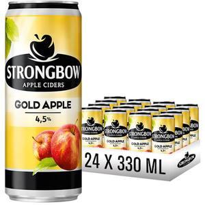 Cidru STRONGBOW Gold Mere bax 0.33L x 24 cutii