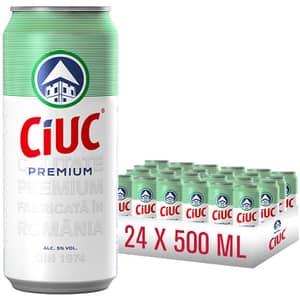 Bere blonda CIUC Premium bax 0.5L x 24 cutii